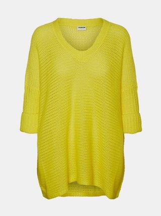 Žltý sveter Noisy May Vera