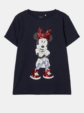 Tmavomodré dievčenské tričko name it Minnie