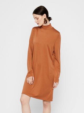 Hnedé šaty Pieces Bamala