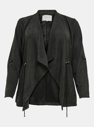 Čierna ľahká bunda ONLY CARMAKOMA Sabia