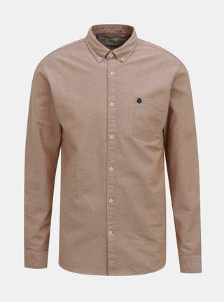 Světle hnědá košile Selected Homme Collect