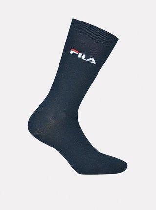 Tmavomodré pánske ponožky FILA