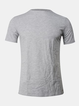 Šedé pánske basic tričko pod košeľu FILA