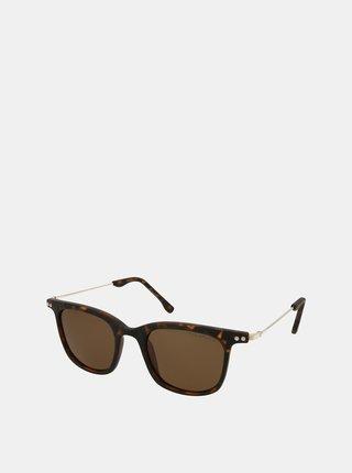 Hnědé sluneční brýle Crullé
