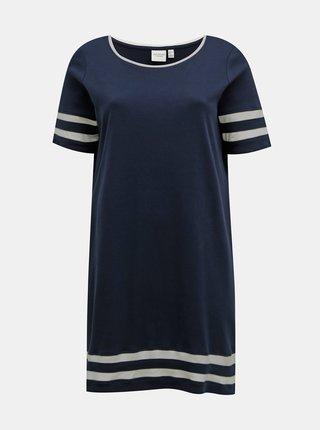 Tmavě modré šaty JUNAROSE Lizette