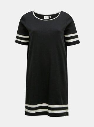 Čierne šaty JUNAROSE Lizette