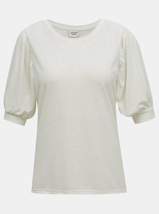 Biele tričko Jacqueline de Yong Kimmie