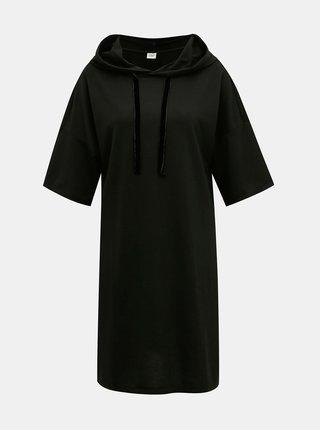 Černé mikinové šaty Jacqueline de Yong Dawn