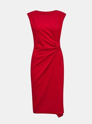 Červené pouzdrové šaty ZOOT Lauren