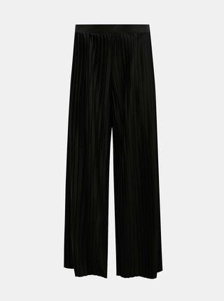 Čierne plisované nohavice Jacqueline de Yong Gayel