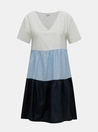 Bielo-modré šaty Jacqueline de Yong Tate