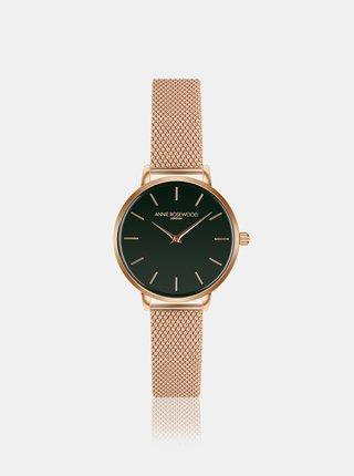 Dámske hodinky s nerezovým remienkom v ružovozlatej farbe Annie Rosewood