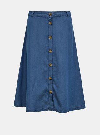 Tmavomodrá rifľová sukňa ONLY Manhattan