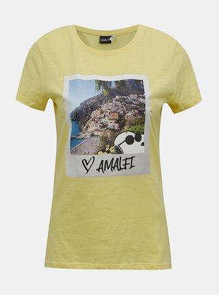Tricouri pentru femei ONLY - galben