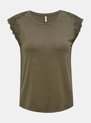 Tricouri pentru femei ONLY - kaki