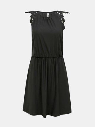 Čierne šaty ONLY Silja