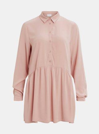 Růžová košile VILA Dania