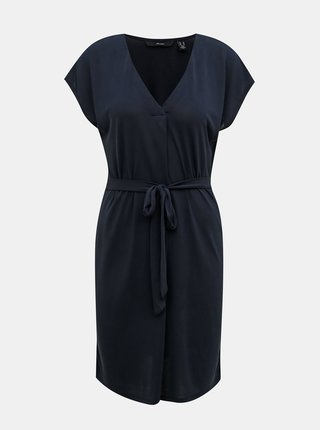 Tmavě modré šaty VERO MODA Beca