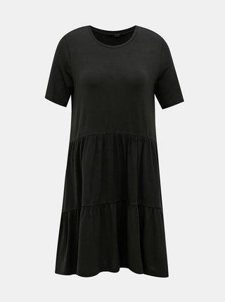 Černé volné šaty AWARE by VERO MODA Java