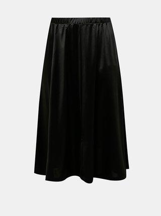 Čierna midi sukňa VERO MODA CURVE
