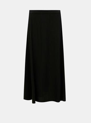 Čierna maxi sukňa VERO MODA Vivian
