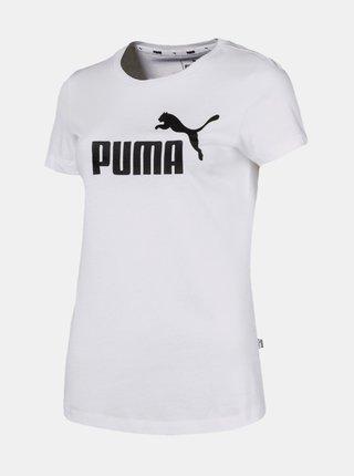 Biele dámske tričko Puma