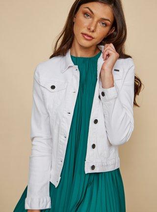 Bílá dámská džínová bunda ZOOT Baseline Chantelle