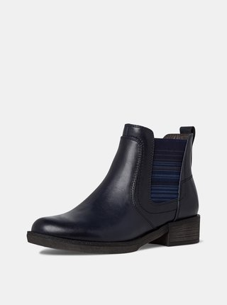 Tmavě modré chelsea boty Tamaris