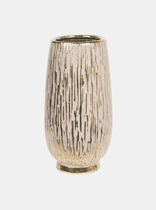 Váza ve zlaté barvě Clayre & Eef