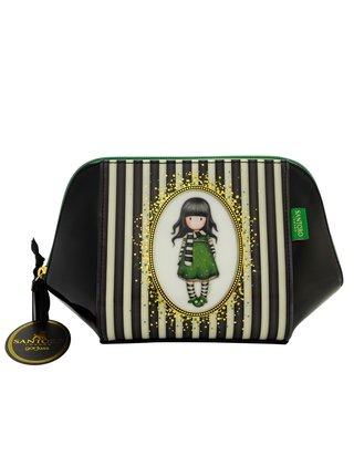 Santoro černá kosmetická taška Gorjuss The Scarf