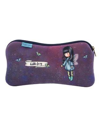 Santoro fialové neoprenové pouzdro Gorjuss Bubble Fairy