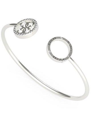 Guess stříbrný náramek Equilibre Silver