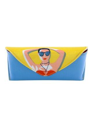 Santoro barevné pevné pouzdro na brýle First Class Lounge Life´s A Beach