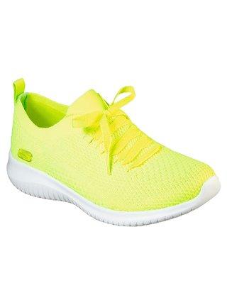Skechers neonové tenisky Ultra Flex Shugar Bliss
