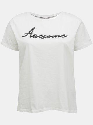 Biele tričko ONLY CARMAKOMA