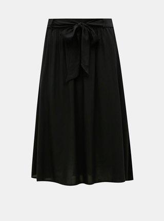 Čierna midi sukňa ONLY Nova