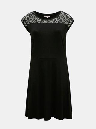 Černé šaty ONLY CARMAKOMA Flake
