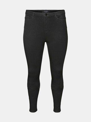 Černé skinny fit džíny JUNAROSE Tanja