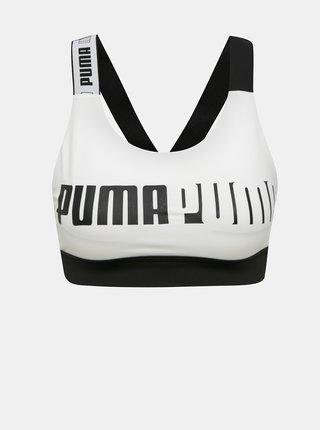 Bílá sportovní podprsenka Puma