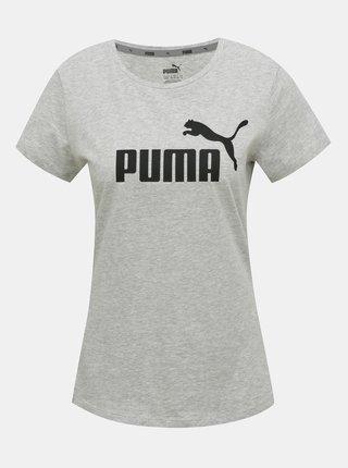 Šedé dámske tričko Puma