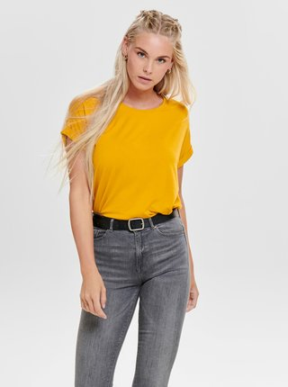 Žlté tričko ONLY Moster