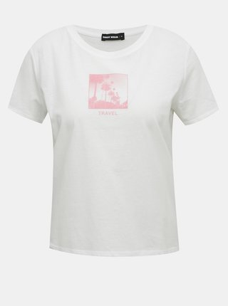 Biele tričko s potlačou TALLY WEiJL