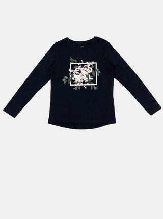 Tmavě modré holčičí tričko name it Veen