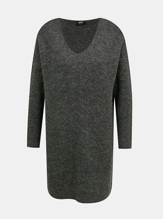 Šedé dámske svetrové šaty ONLY
