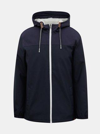 Tmavě modrá zimní větruvzdorná bunda ONLY & SONS Emil