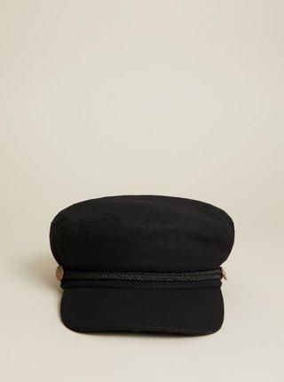 Černá vlněná čepice Mango