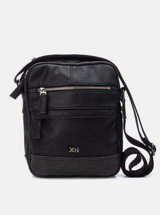 Čierna pánska crossbody taška Xti