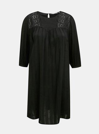 Čierne šaty ONLY CARMAKOMA Remsa