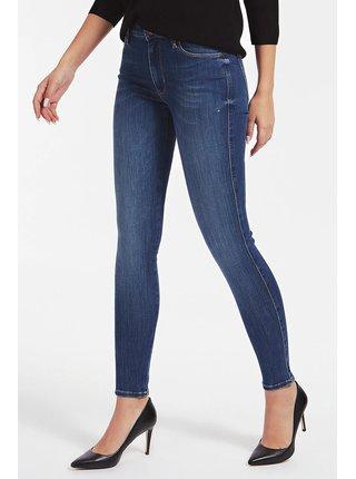 Guess modré džínsy Skinny