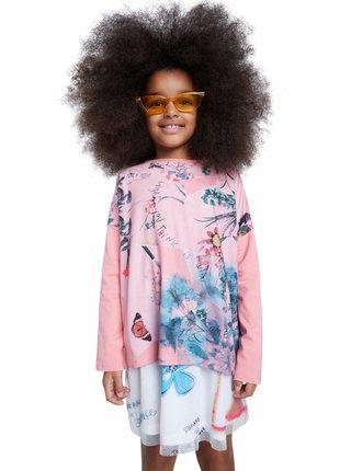 Desigual růžové dívčí tričko TS Watford
